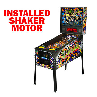 Stern Metallica Pro LED Pinball Machine with Shaker Motor