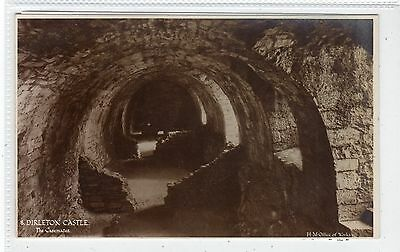 THE CASEMATES, DIRLETON CASTLE: East Lothian postcard (C18916)