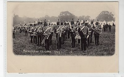 WARWICKSHIRE IMPERIAL YEOMANRY CAMP 1903: Military postcard (C19355)