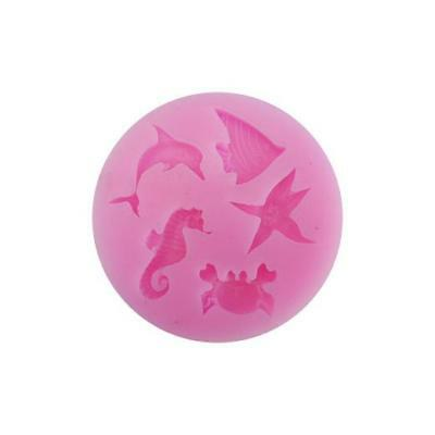 Buddly Crafts Clay & Sugarcraft Silicone Mould - Sea Creature Charms #57