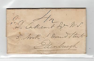 Scotland - Fife: 1834 Entire Letter With North Queensferry Postmark (C19085)