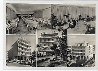 HOTEL BEAURIVAGE, CATTOLICA: Italy postcard (C19037)