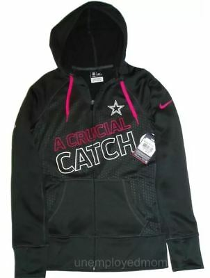 Nike Dallas Cowboys Hoodie A Crucial Catch Womens Therma Fit Full Zip Jacket