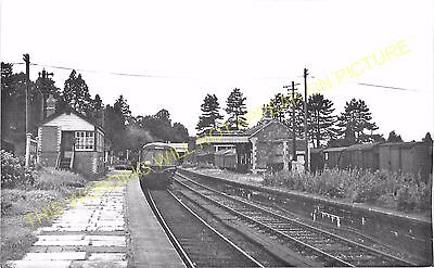 Rowden Mill Leominster Line. Suckley 20 Bromyard Railway Station Photo