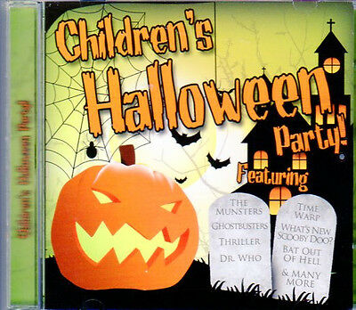 Children's Halloween Party: Kids Music With 10 Bonus Scary Sound Effects! (New)