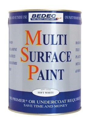 Bedec Multi Surface Paint Gloss 750ml Various Colours - NEW