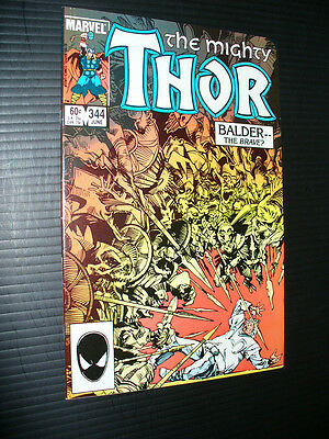 Thor 344: High grade Key 1984 Marvel!   CGC it!!  No Reserve!