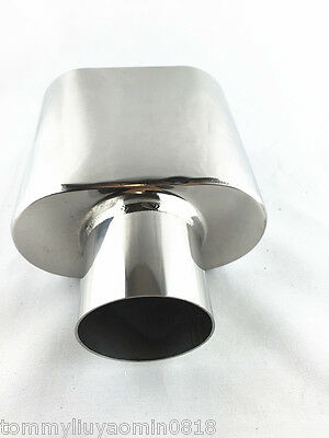 """Universal Fit //Vehicle Accessory Stainless Steel Exhaust Tip inlet 52mm/2"""""""