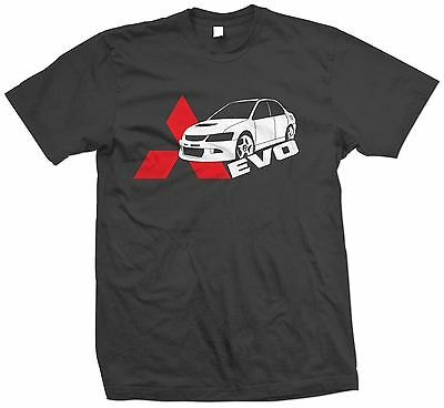 Evo Mitsubishi 8 VIII Evolution T-Shirt/Hoodie Car Racing DSM Diamond Star 9 10