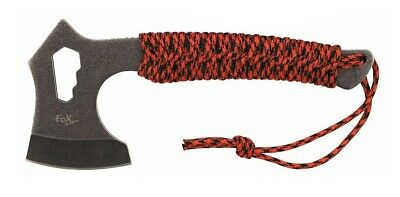 """- MFH Tomahawk """"Redrope"""" stonewashed / AXT Beil Survival Outdoor Camping Tool"""