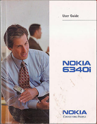 NOKIA 6340i CELL PHONE USER GUIDE