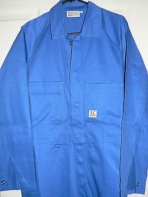 Coveralls Men's  Work Wear Mid Blue