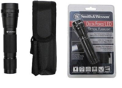 -- Smith&Wesson STABLAMPE Delta Force / XPE-R3 LED - Security Outdoor SEK