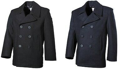 -- MANTEL US Pea Coat / Jacke Jackett - Marine BW Navy Army Seemann Kurzmantel