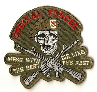 -- Aufnäher Patch Abzeichen - Army  / Spezial Forces - The Best ... - Kutte