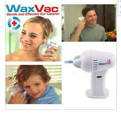 Waxvac Vacuum Ear Cleaning System Removal Tool Earpick Cleaner Ear Pick