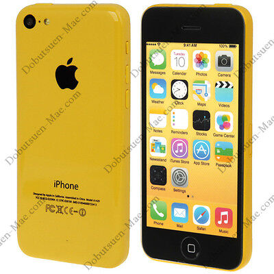 Telephone Smartphone Iphone 5C Jaune ||| FACTICE ||| DUMMY ||| NEUF