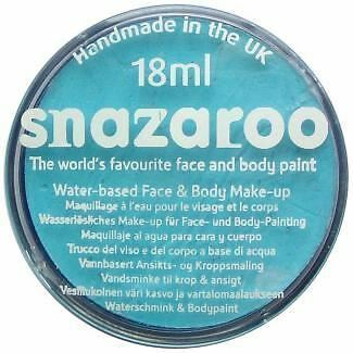 Snazaroo Water Based Face Paint Make Up 18ml Turquoise