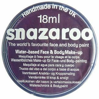 Snazaroo Water Based Face Paint Make Up 18ml Purple
