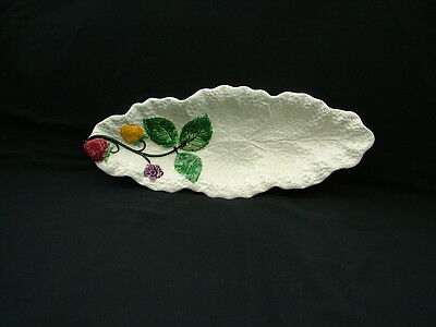 Shorter & Sons pottery strawberry leaf dish