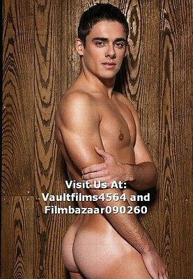 """CHRIS MEARS - GAY INTEREST - 12"""" x 8"""" Colour Photo From Naked Photo Shoot  #1783"""