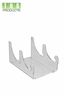 3 Piece Dinnerware Place Setting Clear Display Stand (Item #CC-TW251) - 2 Pack