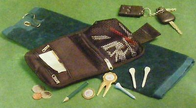 GOLF ACCESSORIES GIFT SET WITH GOLF TOWEL AND WALLET  perfect gift for golfers