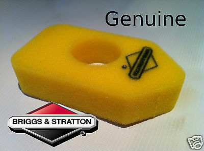 Genuine Briggs and Stratton Air Filter 698369 Yellow Classic Sprint 450 500 550