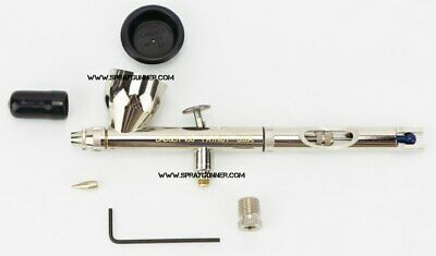 """Badger Airbrush Patriot 105-1 gravity feed made in USA with bonus 1/8"""" adapter"""