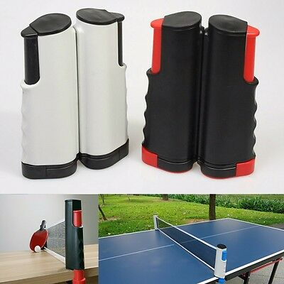 Retractable Table Tennis Net Portable Replacement Ping Pong Set Fitness Exercise