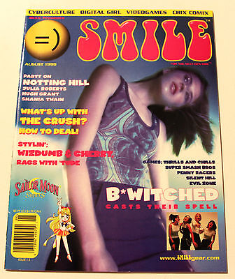 Smile Issue 1.5 Aug 1999 MIXX Tokyopop - Sailor Moon SuperS