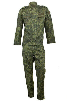 Russian camouflage VKBO Russian Camo suit Russian army thin fabric digital flora