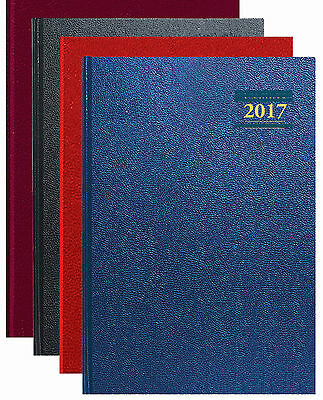 2017 Diary Desk Diaries A4/a5/slim   Week To View   Day To A Page  Fast Delivery