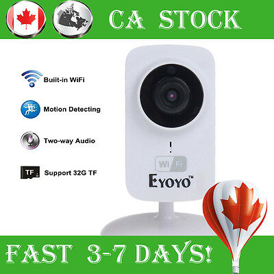 Wireless Video&Audio to Smartphone IP Wifi HD Camera Baby Monitor For iPhone 6s