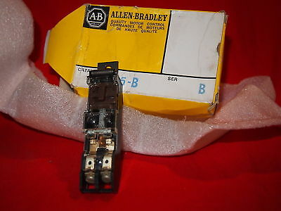 Allen Bradley 595-B Auxiliary Contact 1No 600Vac Size 0-5 New