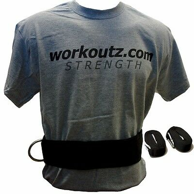 Workoutz Adjustable Waist Belt With Dual Pulling Strap Speed Football Track Pull