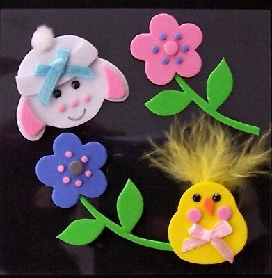 *EASTER CHICK* foam stickers - Easter chick - Easter Flowers