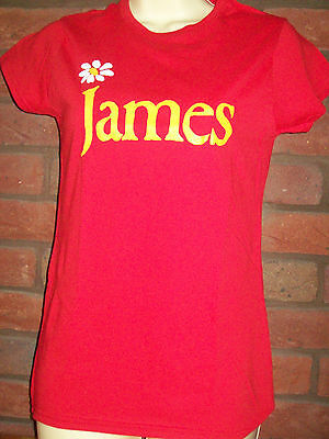 Ladies James T Shirt In Red