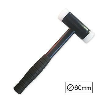 Dead Blow Hammer Anti-Bounce 60mm Diameter Nylon Cap