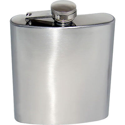 Quality Stainless Steel Hip Flask 3/ 4/ 5/ 6/ 7oz *Best Gift For Your Best Men