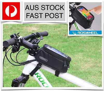 Genuine Roswheel Cycling Touch Screen Front Tube Bag Bike Bicycle 1.5L Fast Post