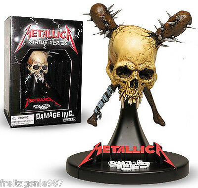 METALLICA DAMAGE INC  PVC statue 16cm by SEG