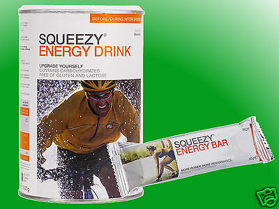(25,98€/kg)   Squeezy Energy Drink a 500g + 1 Riegel gratis