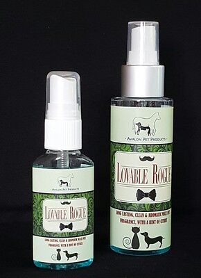 Long Lasting Citrus Male Scent/Deodorant/Fragrance/Perfume Dogs Cats Pets