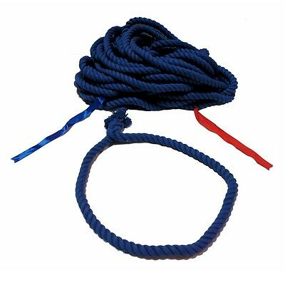 100 Ft Blue Tug Of War Rope Polyester Pe Tug O War 100 Feet Poly Adapted