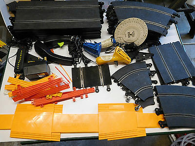 SCALEXTRIC Bundle/Joblot box of Track and Accessories Lot 3