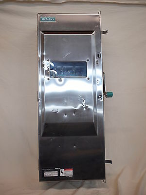 Siemens 4Id364Nf Stainless Safety Switch 200A 600V 3P Enc.4X (W2B4)