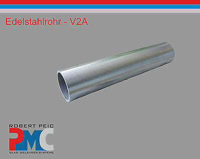 Stainless steel tubing V2A Tube VA Round Remains