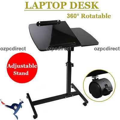 AU Ship Mobile Laptop Desk Adjustable Notebook Computer iPad PC Stand Table Tray
