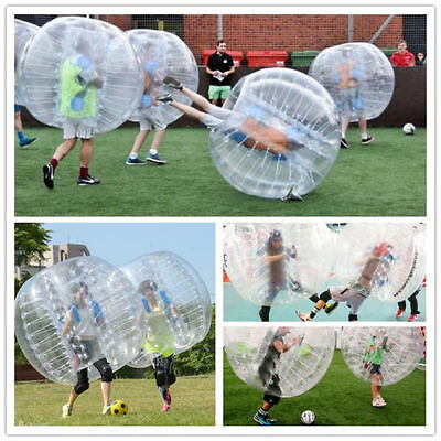 1.5M PVC (4.92ft) Inflatable Body Zorb Soccer Bumper Bubble Balls Football Game